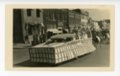 Job's Daughters float, Kaffir Corn Carnival, El Dorado, Butler County, Kansas - front