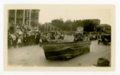 School District 150 float, Kaffir Corn Carnival Parade, El Dorado, Butler County, Kansas - front