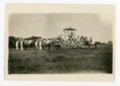 Kaffir Corn Queen float, El Dorado, Butler County, Kansas - front