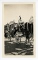 Parade stagecoach, Kaffir Corn Carnival, El Dorado, Butler County, Kansas - front