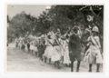 School District 101 Marchers, Kaffir Corn Carnival Parade, El Dorado, Kansas - front
