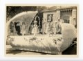 Baby Kaffir Queen float, Kaffir Corn Carnival Parade, El Dorado, Kansas - 02 - front