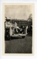 Automobile Float, Kaffir Corn Carnival Parade, El Dorado, Kansas - front