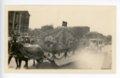 Economy school float, Kaffir Corn Carnival Parade, El Dorado, Butler County, Kansas - front