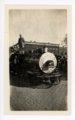 Train engine float, Kaffir Corn Carnival Parade, El Dorado, Butler County, Kansas - front