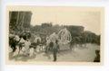 Baby Queen float, Kaffir Corn Carnival parade, El Dorado, Butler County, Kansas - front