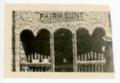 Fairmount Township booth, Kaffir Corn Carnival, El Dorado, Butler County, Kansas - front