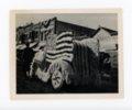 American flag float, Kaffir Corn Carnival Parade, El Dorado, Kansas