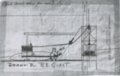 Weir, Cherokee County, Kansas - Drawing of Mule Hoist, Hamilton Coal Company