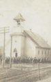 Arcadia mining camp, Crawford County, Kansas - Christian Church, Arcadia, KS (2)