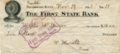 Franklin, Crawford County, Kansas - Canceled Check, Franklin, KS, 12/14/1913