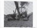 Monmouth, Crawford County, Kansas - Walking Steam Shovel, Apex, 1952