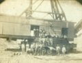 Mulberry, Crawford County, Kansas - Mining Crew with Shovel