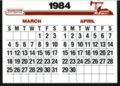 Hesston 1984 calendar - 4