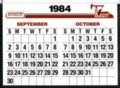 Hesston 1984 calendar - 7