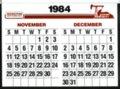Hesston 1984 calendar - 8