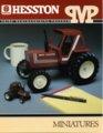 Hesston Corporation miniatures brochure - front