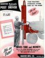 Shaver hydraulic post driver flyer - front