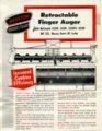 Retractable finger auger flyer - front