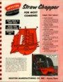 Straw chopper flyer - front