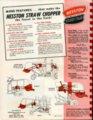 Straw chopper flyer - back