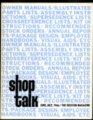 Shop Talk newsletter - front