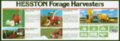 Hesston farm equipement flyer - front bottom half