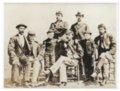 Soldiers and children at Fort Dodge, Kansas