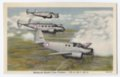 Beechcraft Bomber crew trainers postcard