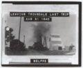 Locomative on tracks, Trousdale, Kansas - 1