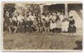 Patrick Gorman's family on his farm near Fulton, Kasnas