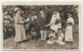 Mock wedding on the Patrick Gorman farm near Fulton, Kansas