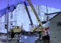 Columbian Theater raw girder restoration, Wamego, Kansas
