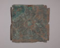 Copper Tile from the Kaw Mission - 1