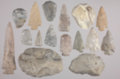 Artifact Collection from Rock Creek in Pottawatomie County