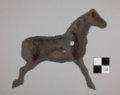 Cast Iron Horse from the Shawnee Methodist Mission, 14JO362 - 2