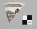 Transferware Dish Sherd from the Iowa Sac and Fox Mission, 14DP384 - 2