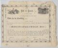 Nicodemus Town Company certificate
