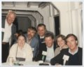 John Carlin, Ann Carlin Ozegovic, and Jack Ozegovic with others