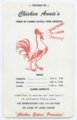 Chicken Annie's Original menus
