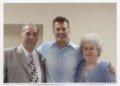 Louis Lipoglav, Robert Titus, and Louella Lipoglav in Frontenac, Kansas