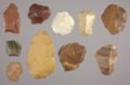 Artifacts from a Lithic Workshop, 14GO405