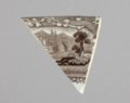 Transferware Dish Sherd from the Iowa Sac and Fox Mission, 14DP384 - 1