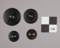Goodyear Rubber Buttons from Constitution Hall, 14DO321 - 2