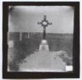 Joseph Erbert's grave marker, Ellis, Kansas