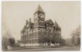 Miami County Courthouse, Paola, Kansas postcard - 1