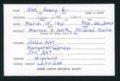 Highland Cemetery interment cards A-B - 6