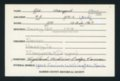Highland Cemetery interment cards A-B - 8