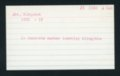 Highland Cemetery interment cards A-B - 10