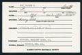 Highland Cemetery interment cards A-B - 12